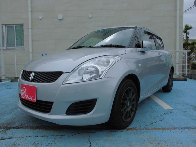 スズキ スイフト XG 5速マニュアル車 LEDヘッドライト 15インチアルミホイール ベージュレザー調シートカバー スマートキー プッシュスタート ETC