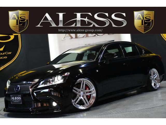 レクサス GS450h Fスポ黒革SR 新品車高調 新品WORK20