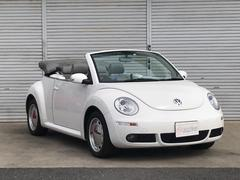VW ニュービートルカブリオレLZ 最終モデル ETC 電動オープン 革シート