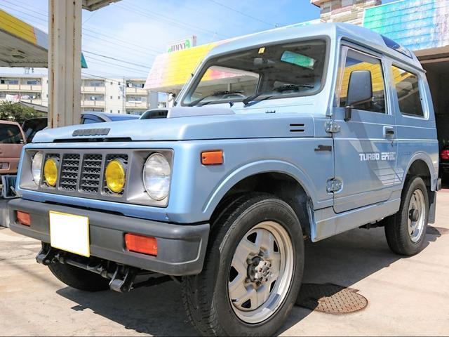 スズキ ジムニー ターボ 5速MT 4WD JA71