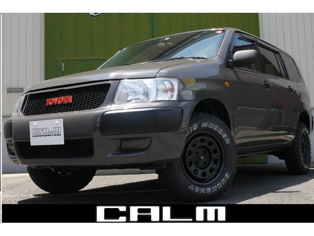 トヨタ サクシードバン UL Xパッケージ 4WD 5速MT リフトアップ