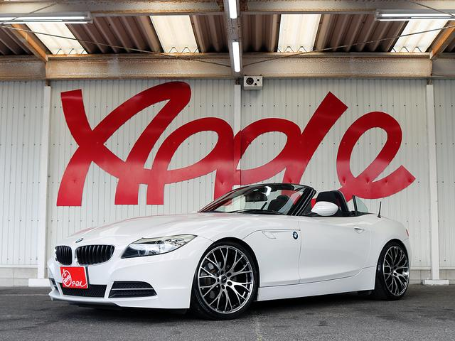 BMW sDrive20i 禁煙車/純正HDDナビ/HID/RAYS19インチAW/KW車高調/革巻きステアリング/パドルシフト/ETC/DVD再生可