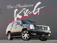 キャデラック エスカレードクライメントPKG4WD黒革サンルーフ 6ヶ月無制限保障