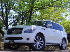 インフィニティ QX56シアターDXPKG黒革シート サンルーフ 4WD