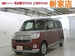 ムーヴキャンバスXメイクアップ SAIII−A 社用車 展示車