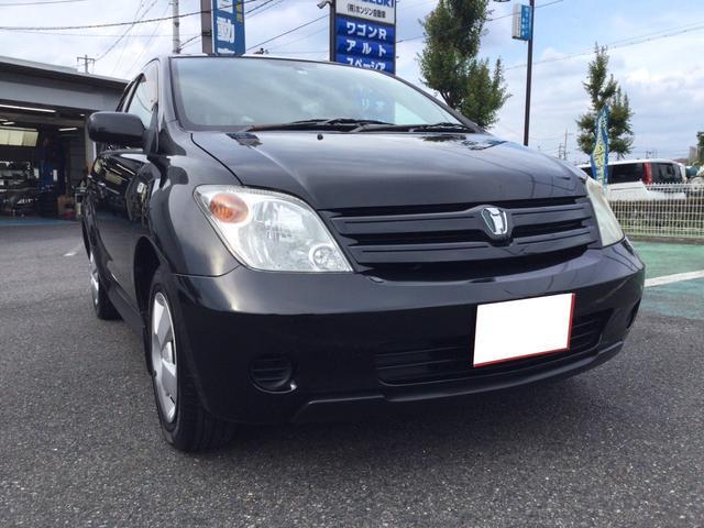 トヨタ イスト 1.3F Lエディション CD 黒