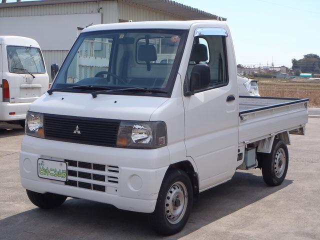三菱 5速MT 2WD エアコン・パワステ 3ヶ月3千キロ保証付き