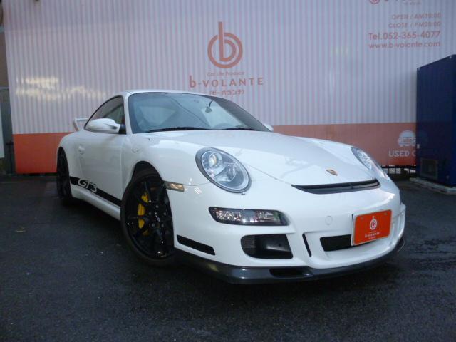 ポルシェ 911GT3 ストリート PCCB ロベルタリフター 社外ナビ地デジ ロールバー スポーツクロノ D車左ハンドル