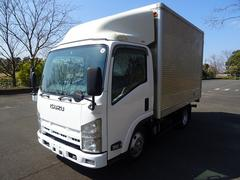 エルフトラック新免許 オートマAT ターボ アルミバン 高さ202cm