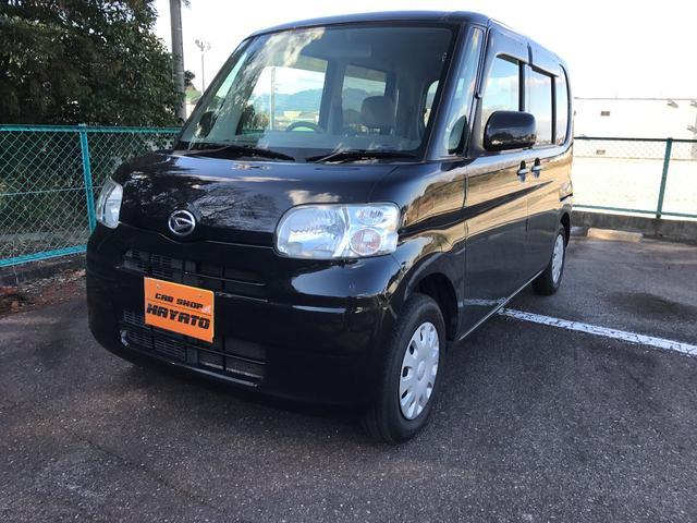 沖縄の中古車 ダイハツ タント 車両価格 38.8万円 リ済別 2009(平成21)年 9.5万km ブラックマイカ