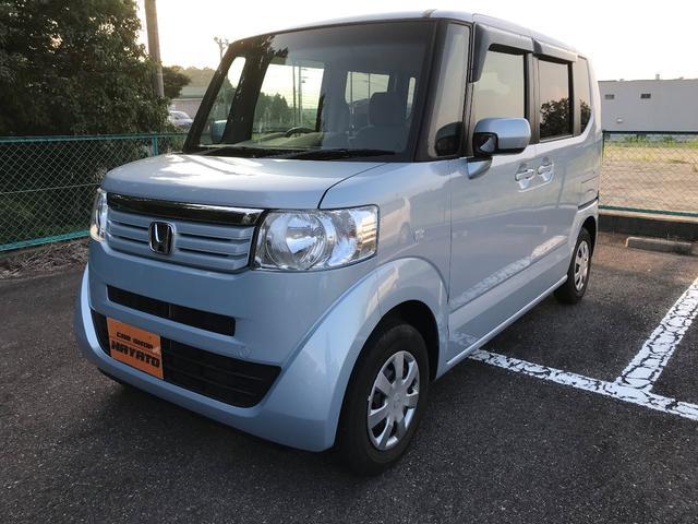 沖縄の中古車 ホンダ N-BOX 車両価格 91.8万円 リ済別 平成24年 3.4万km クールミストメタリック