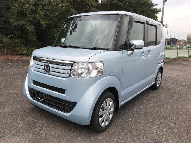 沖縄の中古車 ホンダ N-BOX+ 車両価格 73.8万円 リ済別 2013(平成25)年 5.6万km クールミストメタリック