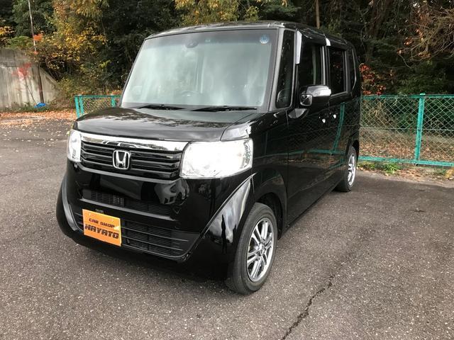 沖縄の中古車 ホンダ N-BOX 車両価格 106.8万円 リ済別 2015(平成27)年 2.5万km スマートブラック