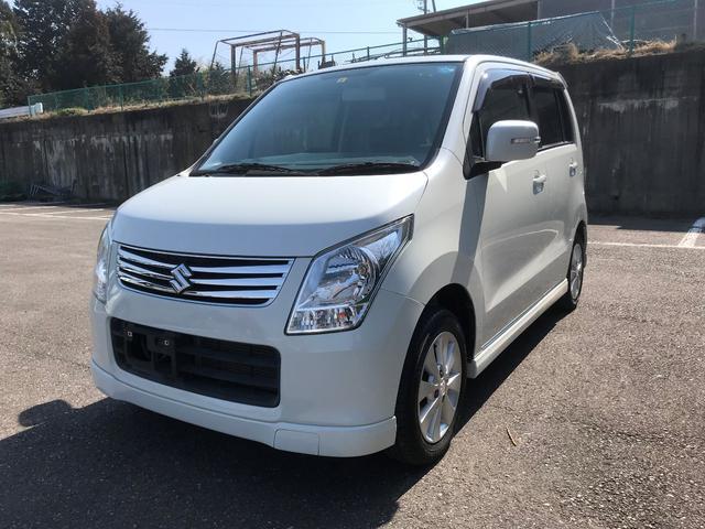 沖縄の中古車 スズキ ワゴンR 車両価格 56.8万円 リ済別 平成23年 8.3万km パールホワイト