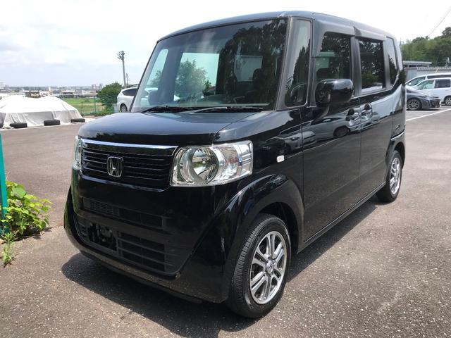 沖縄県の中古車ならN-BOX G・Lパッケージ ナビ TV DVD ETC アルミ