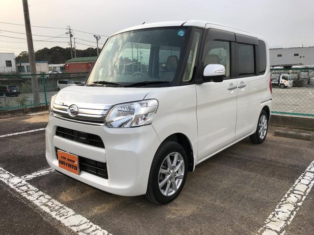 沖縄県の中古車ならタント G SA 8インチナビ TV DVD ETC フリップダウン