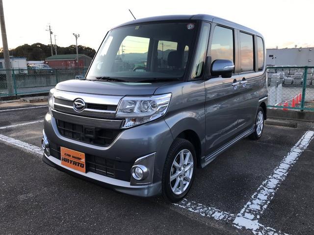 沖縄県うるま市の中古車ならタント カスタムX スマートセレクションSA ナビ TV DVD
