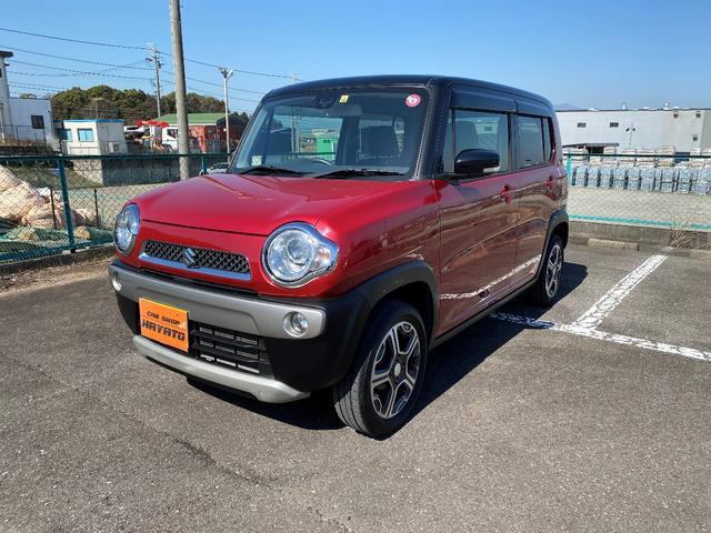 沖縄県うるま市の中古車ならハスラー X スマートフォン連携ナビ装着車 ナビ TV ETC Bカメラ アルミ レーダーブレーキサポート アイドリングストップ プッシュスタート