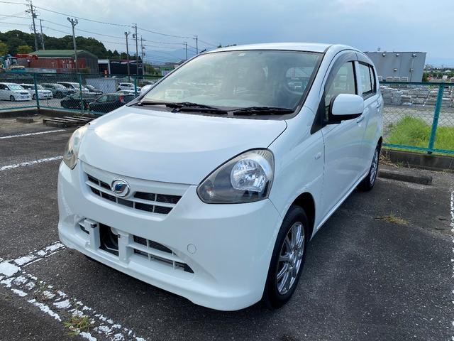 沖縄の中古車 ダイハツ ミライース 車両価格 51.8万円 リ済別 2012(平成24)年 1.0万km ホワイト