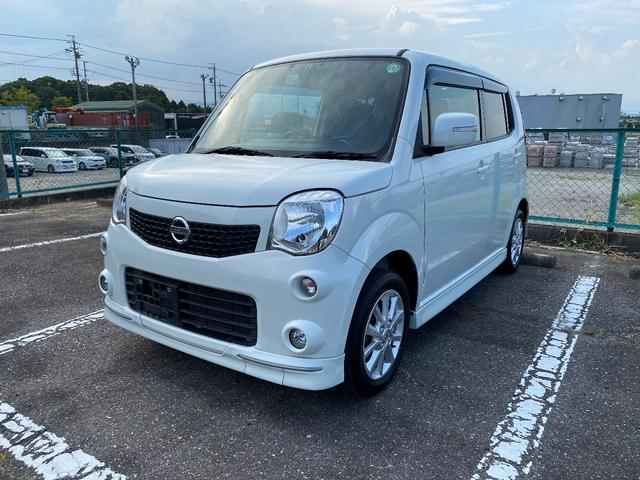 沖縄県の中古車ならモコ X エアロスタイル ナビ TV ETC ドライブレコ-ダ- アルミ プッシュスタート