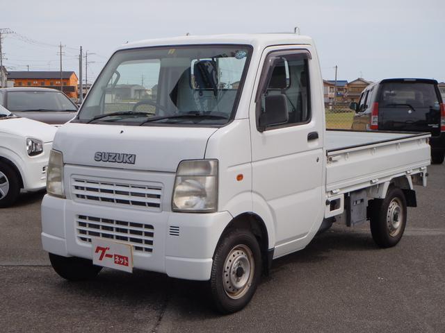 スズキ KCエアコン・パワステ 4WD 5速MT 走行27350キロ