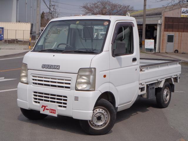 スズキ KCエアコン・パワステ 5速MT 4WD ワンオーナー車
