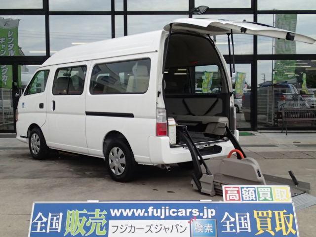 チェアキャブ福祉車両 M仕様リフト 10人2台 電動ステップ(1枚目)