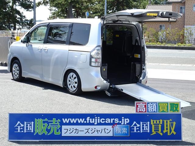 トヨタ ウェルキャブ福祉車両 スロープ8人 電動ウィンチ固定