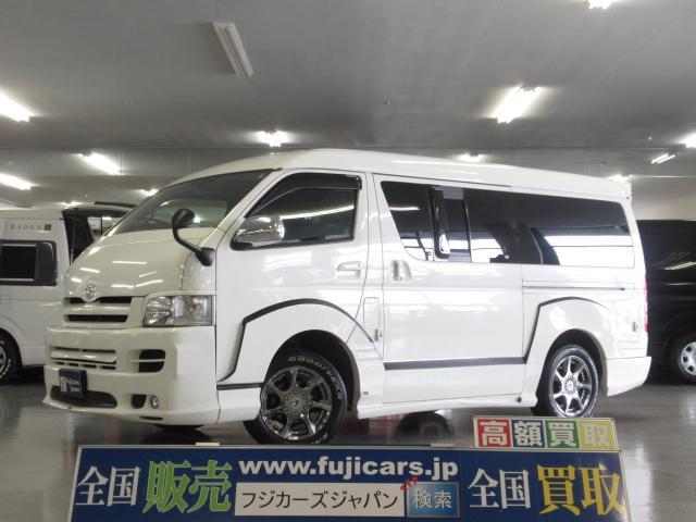 トヨタ カスタム フルエアロ 4WD レカロシート HDDナビ