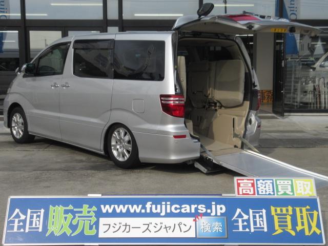 トヨタ ウェルキャブ福祉車両 スロープ7人 電動固定 HDDナビ