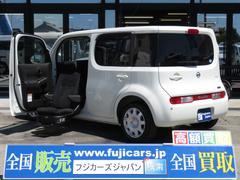 キューブアンシャンテ福祉車両 助手席リフト 電動昇降シート 15X