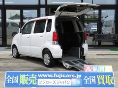 ワゴンRウィズシリーズ福祉車両 スロープ 3人 8ナン 電動固定