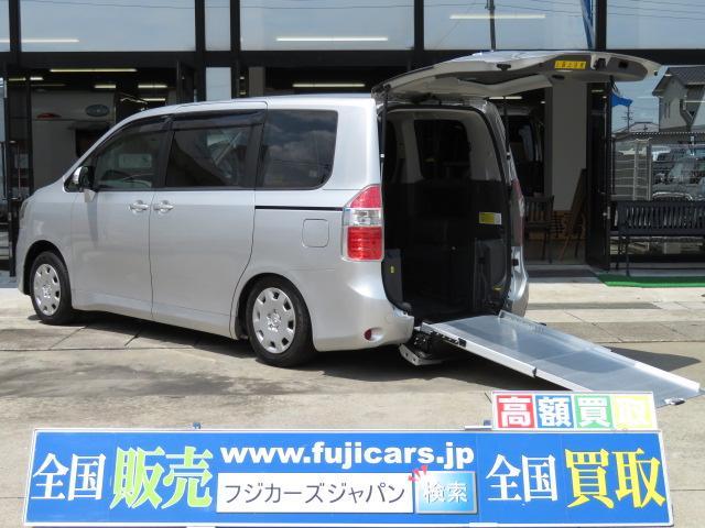 トヨタ ウェルキャブ福祉車両 スロープ6人 電動固定 8ナン HDD