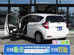 ノートX助手席スライドアップシート福祉車両エマージェンシーブレーキ