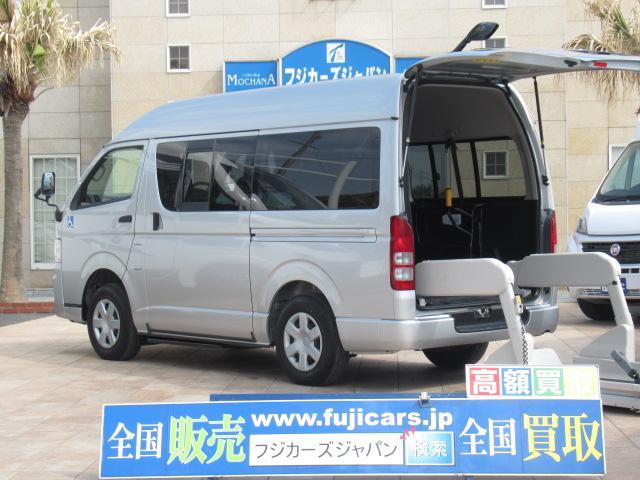 トヨタ ロングDX ハイルーフ ウェルキャブ Bタイプ 4WD