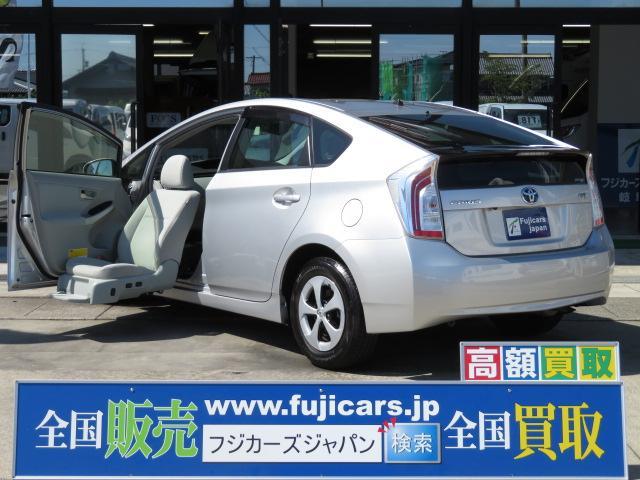 トヨタ S ウェルキャブ 助手席リフトアップシート 純正SDナビ