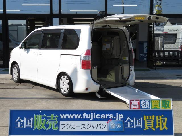 トヨタ X Lセレクション ウェルキャブ スロープ 車いす2台固定