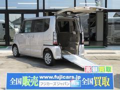 N BOX+G スロープ 4人乗り 車いす仕様車 SDナビ 電動ウィンチ