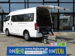NV350キャラバンバンチェアキャブ M仕様 車いす2台固定 10人乗り 軽油4WD