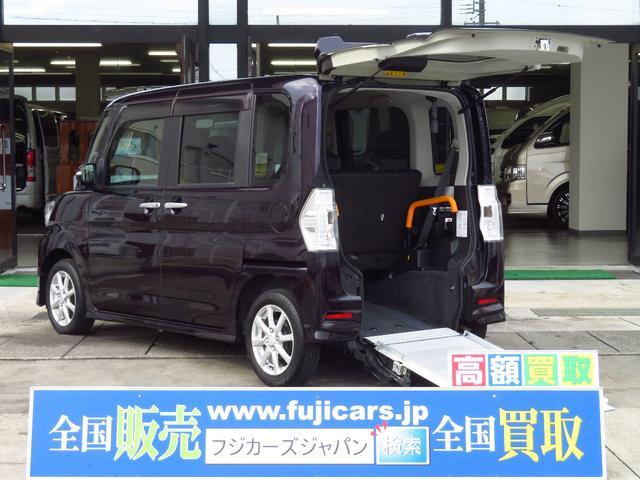 ダイハツ タント カスタムX SA スローパー 車いす使用…