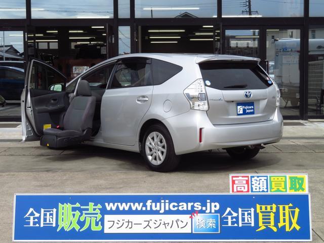 トヨタ 1.8Sウェルキャブ 助手席電動サイドリフトアップシート