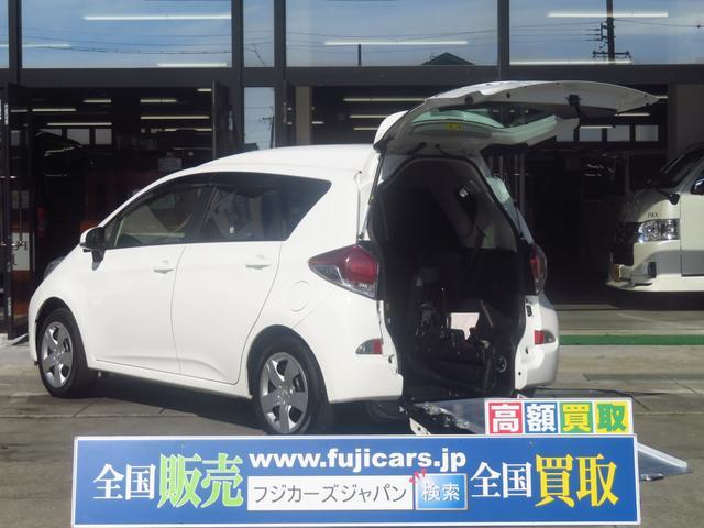 トヨタ Xウェルキャブ スロープタイプ1 車いす電動固定 後退防止