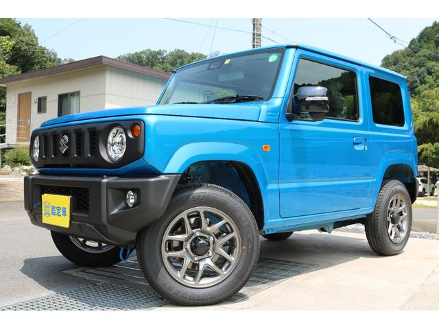 スズキ ジムニー XCターボ 4WD 届出済未使用車 セーフティーサポート