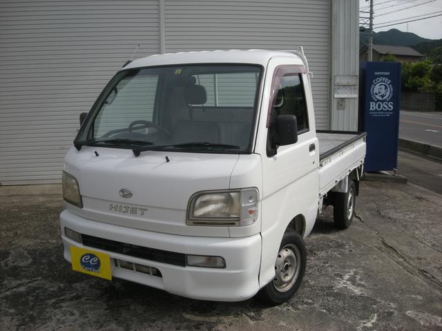 ダイハツ ハイゼットトラック ベースグレード エアコン 5速マニュアル 三方開 軽トラ