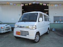 ミニキャブバンブラボー 5速4WD 社外12AW ETC Tベルト交換済
