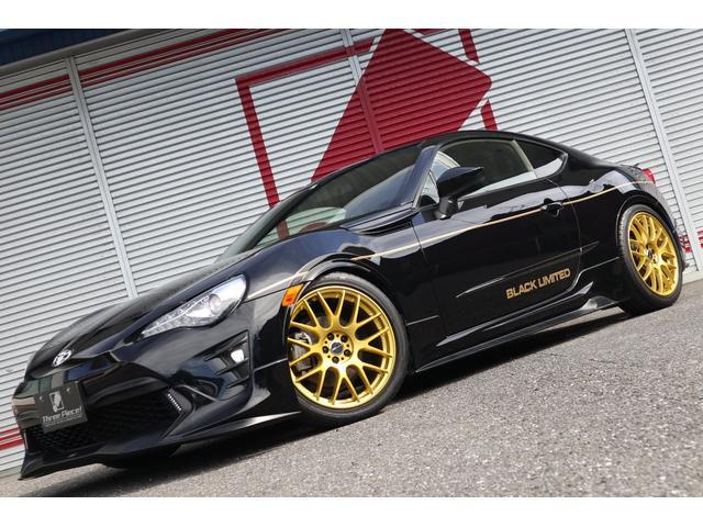 GT HKS車高調 エモーション特注ゴールド TRDフルエアロ 柿本マフラー HKSエキゾーストマニホールド レカロシートSR-6 ブラックリミテッド オリジナルスタイル AE86を模倣する黒金コンビ