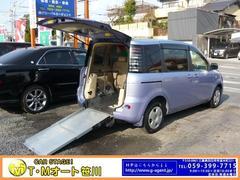 シエンタX  福祉車両 スローパー車 ナビ Bカメラ 左電動SD