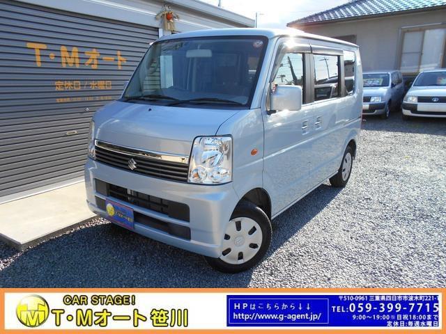 スズキ JP CDデッキ キーレス コラムシフト Tチェーン車