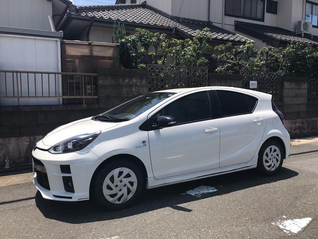 アクア(トヨタ) G GRスポーツ 中古車画像