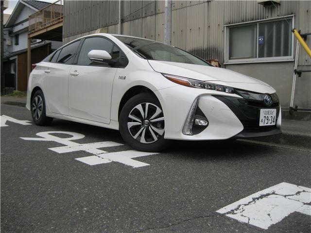 プリウスPHV(トヨタ) Sセーフティプラス 中古車画像